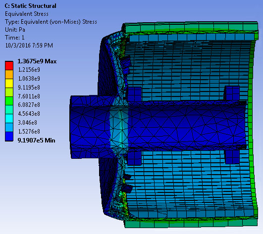 Mechanical Analysis of a high-speed motor – Grainger CEME