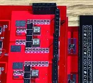 Dipanjan Das Fig21 Figure 21: Bi-directional multi-phase buck/buck-boost converter with asymmetric current-sharing: hardward setup