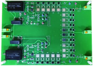 Driver board for monitoring IGBT health of 3-phase inverter