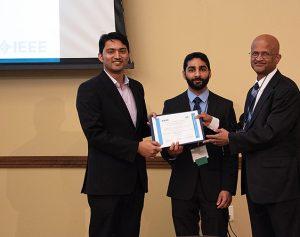 IAS presentation certificate to PECI 2020 Conference Co-Directors