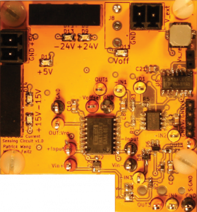 Sensing circuit for SiC MOSFET